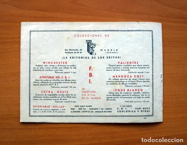 Tebeos: El jeque blanco - nº 106, La última apuesta - Editorial Rollan 1951 - Tamaño 17x24 - Foto 6 - 104618239