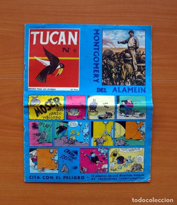 TUCAN - Nº 5 - EDITORIAL ROLLAN 1966 - TAMAÑO 32X26 (Tebeos y Comics - Rollán - Otros)