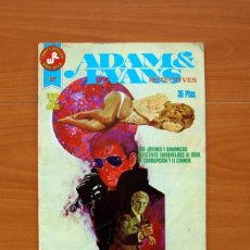 Tebeos: COMICS ROLLAN, SERIE ROJA - ADAM Y EVANS - Nº 2, DETECTIVES - EDITORIAL ROLLAN 1977 - TAMAÑO 27X21. Lote 104621731
