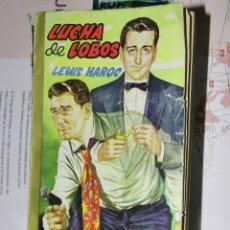 Tebeos: LUCHA DE LOBOS, LEWIS HAROC - COLECCIÓN FBI - EDITORIAL ROLLAN - 1959. Lote 104990691