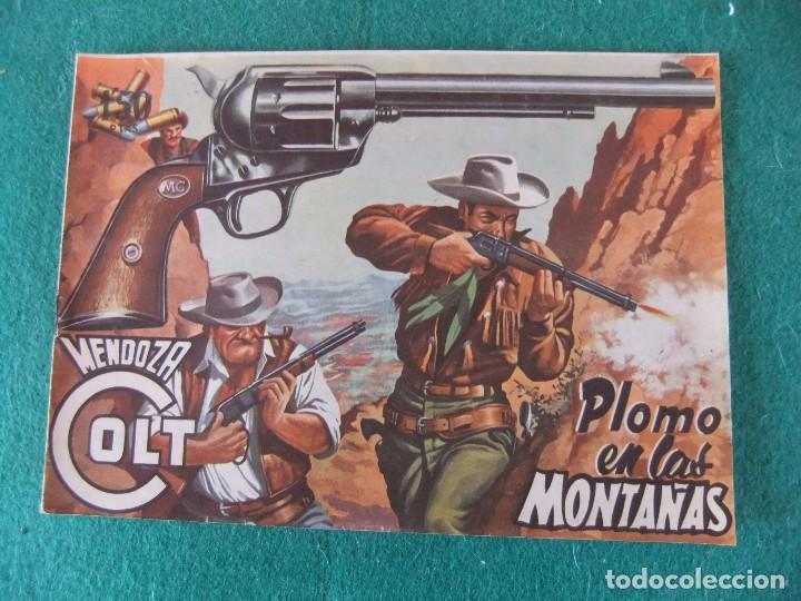 MENDOZA COLT Nº 11 EDITORIAL ROLLAN ORIGINAL (Tebeos y Comics - Rollán - Mendoza Colt)