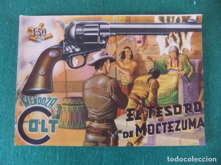 MENDOZA COLT Nº 6 EDITORIAL ROLLAN ORIGINAL (Tebeos y Comics - Rollán - Mendoza Colt)