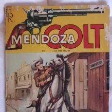 Tebeos: MENDOZA COLT NOVELA REBELDES EN LA CIUDAD. Lote 105303995