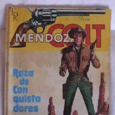 Tebeos: MENDOZA COLT NOVELA Nº 1 RAZA DE CONQUISTADORES. Lote 105304607
