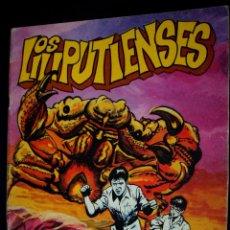 Tebeos: LOS LILIPUTIENSES Nº 1 : LA ISLA DE LOS ENANOS (SERIE AZUL ROLLÁN Nº 11).-EXCELENTE PRECIO-. Lote 105440007