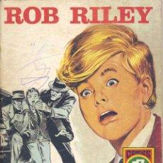 Tebeos: ROB RILEY Nº1. EDITORIAL ROLLÁN, 1973. SERIE ROJA Nº6. DIBUJOS DE JESÚS BLASCO. Lote 105749611