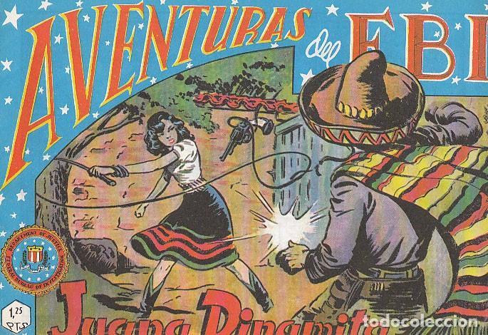 AVENTURAS DEL FBI Nº 40, JUANA DINAMITA (Tebeos y Comics - Rollán - FBI)