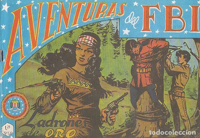 AVENTURAS DEL FBI Nº 45, LADRONES DE ORO (Tebeos y Comics - Rollán - FBI)