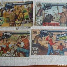 Tebeos: MENDOZA COLT 4 COMICS EDITORIAL ROLLÁN 1955. ORIGINALES. Lote 107148235