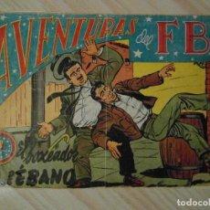 Tebeos: EL BOXEADOR DE EBANO. Nº 100 DE AVENTURAS DEL FBI. EDITORIAL ROLLAN. 1955. L. BERMEJO. Lote 108833219
