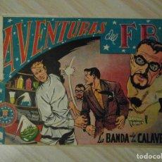 Tebeos: LA BANDA DE LA CALAVERA. Nº 117 DE AVENTURAS DEL FBI. EDITORIAL ROLLAN. 1955. L. BERMEJO. Lote 108834471