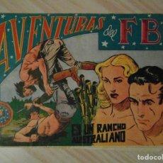 Tebeos: EN UN RANCHO AUSTRALIANO. Nº 111 DE AVENTURAS DEL FBI. EDITORIAL ROLLAN. 1955. CARRILLO. Lote 108930879
