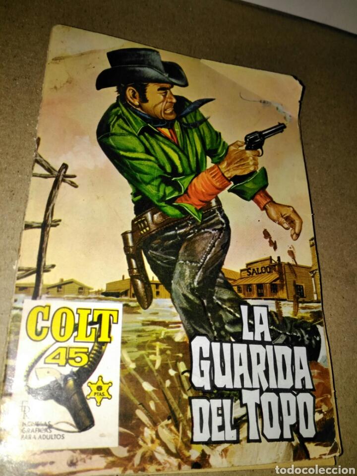 LA GUARIDA DEL TOPO MENDOZA COLT NUMERO 19 (Tebeos y Comics - Rollán - Mendoza Colt)