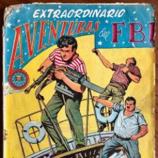 Tebeos: EXTRAORDINARIO AVENTURAS DEL FBI. NEGREROS DEL SIGLO XX. ORIGINAL. EDITORIAL ROLLAN. Lote 110098271