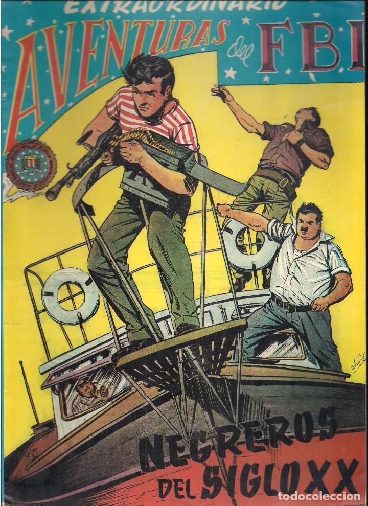 EXTRAORDINARIO AVENTURAS DEL FBI: NEGREROS DEL SIGLO XX (Tebeos y Comics - Rollán - FBI)