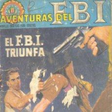 Tebeos: AVENTURAS DEL FBI Nº10. EDITORIAL ROLLAN, 1965. Lote 110482743