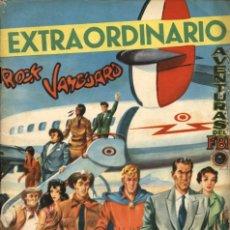 Tebeos: EXTRAORDINARIO ROCK VANGUARD (ROLLÁN, 1961) CON MENDOZA COLT Y AVENTURAS DEL FBI. Lote 110592375