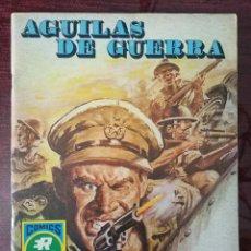 Tebeos: AGUILAS DE GUERRA SERIE AZUL Nº 1: BATALLA CONTRA RELOJ (ROLLAN 1973). Lote 110792467