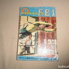 Tebeos: AVENTURAS DEL FBI Nº 53 ROLLAN EL CASO DEL SECUESTRO. Lote 110833659