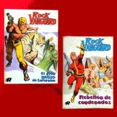 Tebeos: ROCK VANGUARD - Nº 1 Y 3, EJEMPLARES TACO, EDITORIAL ROLLAN, S.A. 1974-DIFÍCILES EN ESTE ESTADO. Lote 111379899