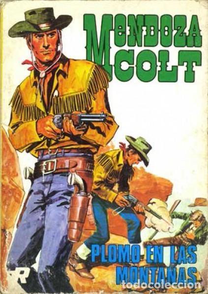 Tebeos: Mendoza Colt, Año 1974 Colección Completa son 6 Tebeos de 21 X 15 son Originales Editorial Rollán - Foto 5 - 111724843