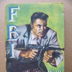 Tebeos: LIBRO NOVELA BUCK PARABELLUM - ALV CORTROA - COLECCION FBI Nº 145 EDITORIAL ROLLAN. Lote 113045831