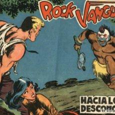 Tebeos: ROCK VANGUARD NÚMERO 1, DE GUERRERO Y GONZÁLEZ CASQUEL (ROLLÁN, 1961). Lote 113468207