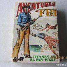 Tebeos: AVENTURAS DEL FBI Nº 7 TITANES EN EL FAR WEST EDITORIAL ROLLAN. Lote 113577367
