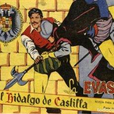 Tebeos: EL HIDALGO DE CASTILLA-7, DE ARTURO ARNAU Y GONZALEZ CASQUEL (ROLLÁN, 1959). Lote 113610623