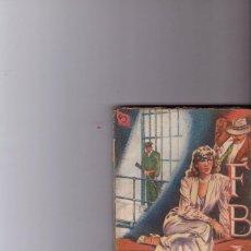 Tebeos: BOLSILIBRO ROLLAN COLECCION FB IMUERTE EN EL CARIBE AÑOS 50. Lote 114485919