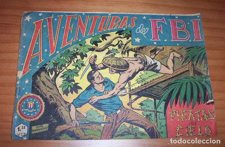 ORIGINAL - AVENTURAS DEL F.B.I. - NUMERO 2: PIRATAS DEL CIELO (Tebeos y Comics - Rollán - FBI)