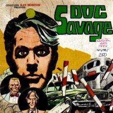 Tebeos: DOC SAVAGE Nº 2: PLANES SINIESTROS. Lote 115470455