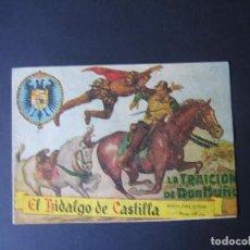 Tebeos: EL HIDALGO DE CASTILLA Nº1 (1959, ROLLAN). Lote 116843795