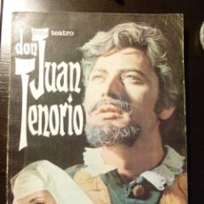 Tebeos: DON JUAN TENORIO FOTO TEATRO Nº 1 EDITORIAL ROLLAN 1968 FOTO NOVELA 260 PAGINAS. Lote 117847171
