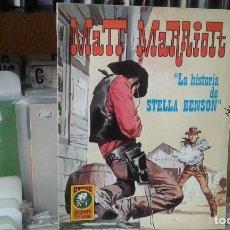 Tebeos: MATT MARRIOTT 1 CURIOSO POR DEFECTO EN IMPRESION O CORTE ,NO AFECTA LECTURA , . Lote 118611795