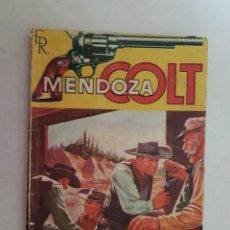 Tebeos: MENDOZA COLT. Nº 18. EDITORIAL ROLLAN.. Lote 120965795