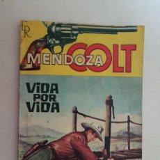 Tebeos: MENDOZA COLT. Nº 36. EDITORIAL ROLLAN.. Lote 120967639
