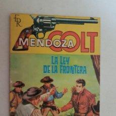 Tebeos: MENDOZA COLT. Nº 38. EDITORIAL ROLLAN.. Lote 120967839