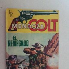 Tebeos: MENDOZA COLT. Nº 45. EDITORIAL ROLLAN.. Lote 120969771