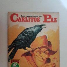 Tebeos: CARLITOS PAZ. EL GRAJO. Nº 17. EDITORIAL ROLLAN.. Lote 121448127