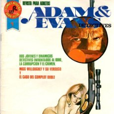 Tebeos: ADAM & EVANS DETECTIVES. Nº 1. COMICS ROLLAN, SERIE ROJA. AÑO 1977. Lote 122764662