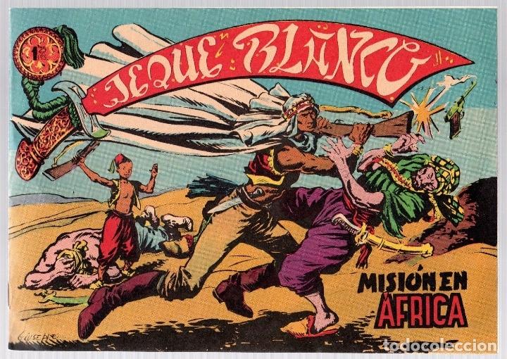 JEQUE BLANCO. Nº 1. MISION EN AFRICA. ORIGINAL, NO REEDICION (Tebeos y Comics - Rollan - Jeque Blanco)