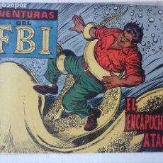 Tebeos: AVENTURAS DEL FBI ORIGINAL Nº 246 MUY DIFICIL - ROLLAN - MUY BUEN ESTADO, SIN CIRCULAR. Lote 124672943