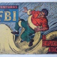 Tebeos: AVENTURAS DEL FBI ORIGINAL Nº 246 MUY DIFICIL - ROLLAN - BUEN ESTADO. Lote 124678835