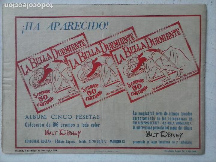 Tebeos: AVENTURAS DEL FBI ORIGINAL Nº 240 MUY DIFICIL - ROLLAN - BUEN ESTADO - Foto 2 - 124678979
