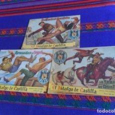 Tebeos: EL HIDALGO DE CASTILLA ORIGINAL NºS 1, 2 Y 4. ROLLÁN 1959. 1,50 PTS. . Lote 126990495