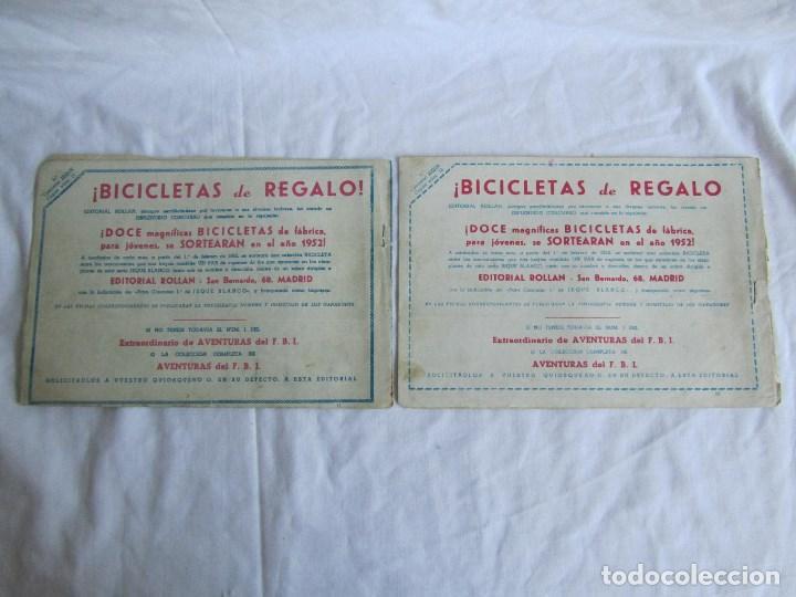 Tebeos: 8 números de Jeque Blanco Ed. Rollan. Nº: 4-5-11-16-19-24-25-26. Originales años 50 - Foto 5 - 126995079