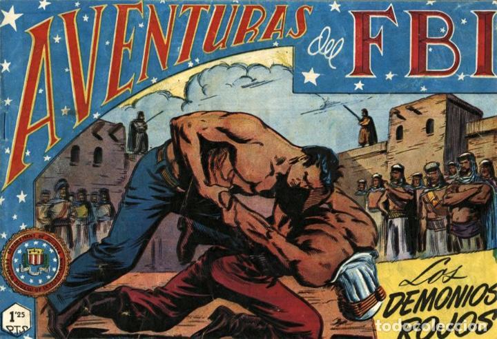 AVENTURAS DEL FBI NÚMERO 36 (ROLLÁN-1951) DE LUIS BERMEJO (Tebeos y Comics - Rollán - FBI)