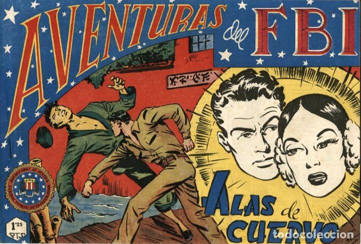 AVENTURAS DEL FBI NÚMERO 41 (ROLLÁN-1951) DE LUIS BERMEJO (Tebeos y Comics - Rollán - FBI)