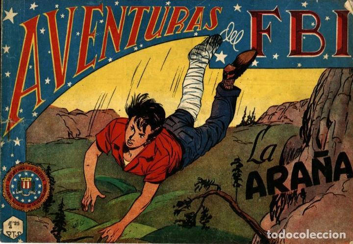 AVENTURAS DEL FBI NÚMERO 142 (ROLLÁN-1951) DE LUIS BERMEJO (Tebeos y Comics - Rollán - FBI)